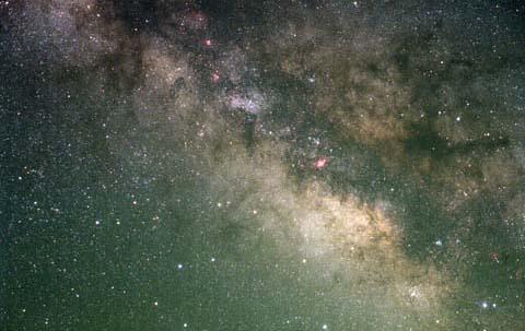 射手座付近の銀河